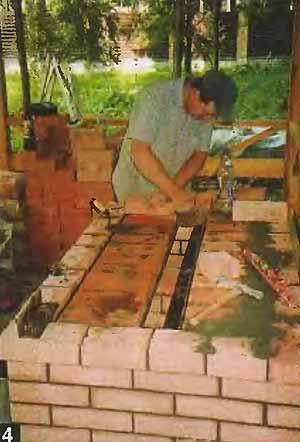 Как построить мангал своими руками из кирпича: чертежи Строим мангал из кирпича своими.
