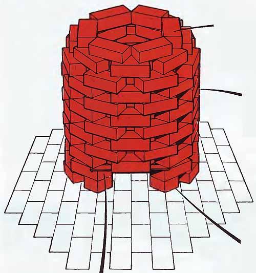 Печь из кирпича для сжигания мусора на даче своими руками из кирпича