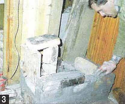 Как за один день сложить печь. Площадь печи 0.4 м2. Подборка статей по теме печи и камины.