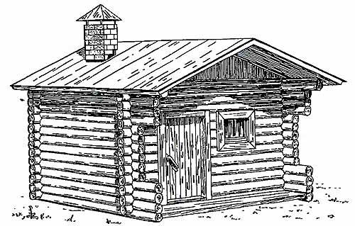 Печь-каменка для русской бани.  Баня всегда была чуть ли не главным сооружением на крестьянском подворье.